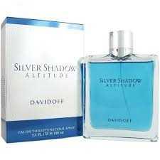 عطر مردانه سیلور شادو آلتیتود از برند دیویدوف DAVIDOFF, Silver Shadow, Altitude